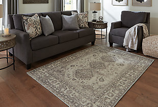 Laycie Medium Rug, Cream/Taupe/Charcoal, rollover
