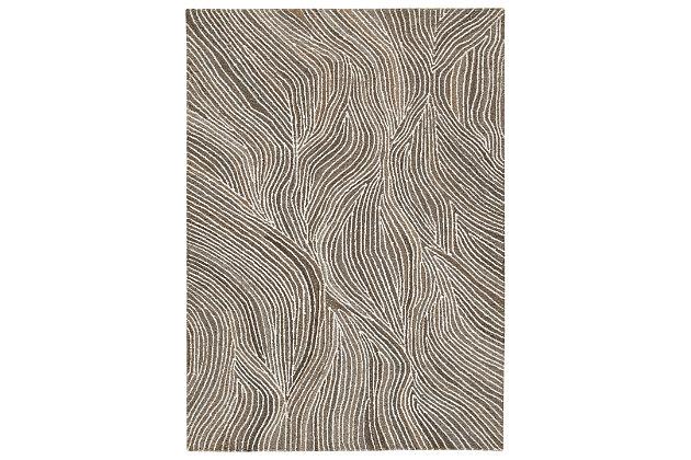 Wysleigh Medium Rug, Ivory/Brown/Gray, large