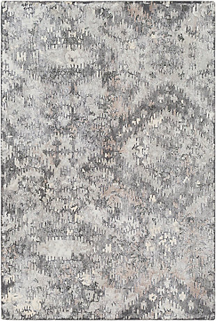 "Wool 5' x 7'6"" Area Rug, Multi, large"