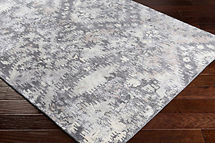 Wool 8' x 10' Area Rug, Multi, rollover