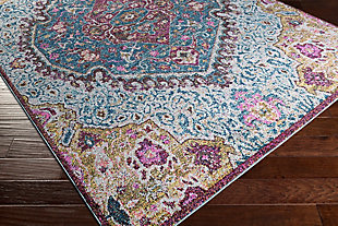 Rectangular 2' x 3' Area Rug, Multi, rollover