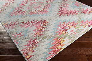 "Home Accents Geometic 5'3"" x 7'3"" Area Rug, Multi, rollover"