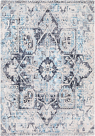 "Rectangular 7'6"" x 9'6"" Area Rug, Multi, large"