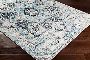 "Rectangular 7'6"" x 9'6"" Area Rug, Multi, rollover"