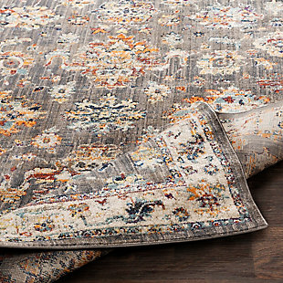 "Rectangular 5'3"" x 7'3"" Area Rug, Multi, large"