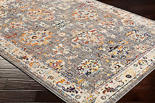 "Rectangular 7'10"" x 10'3"" Area Rug, Multi, rollover"