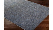 "Rectangular 5'2"" x 7'3"" Area Rug, Dark Blue/Charcoal, rollover"