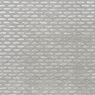 Wool 5' x 8' Area Rug, Medium Gray/Taupe, large