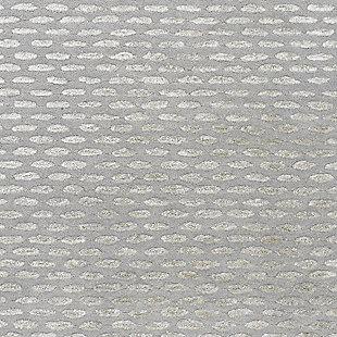Wool 8' x 11' Area Rug, Medium Gray/Taupe, large