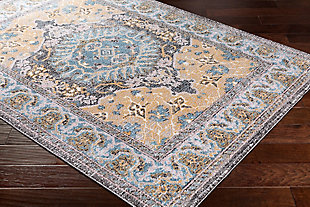 "Rectangular 5'3"" x 7'3"" Area Rug, Multi, rollover"