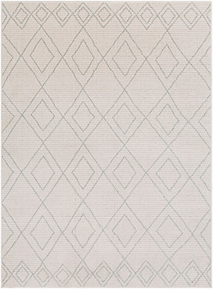 """Modern 5'3"""" x 7'3"""" Area Rug, Taupe/Beige, large"""