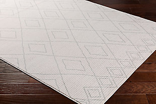 """Modern 5'3"""" x 7'3"""" Area Rug, Taupe/Beige, rollover"""