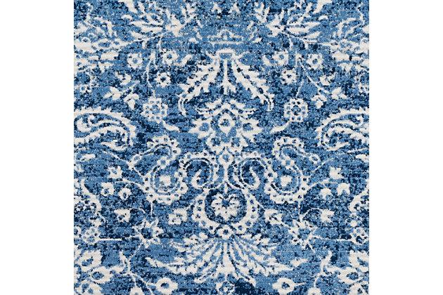 """Raised Pattern 7'10"""" x 10'3"""" Area Rug, Multi, large"""