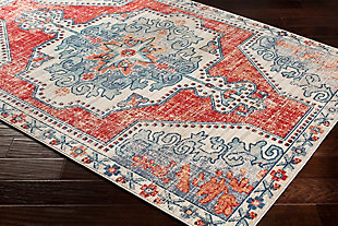 "Rectangular 5'3"" x 7'6"" Area Rug, Multi, rollover"