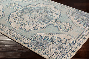 "Rectangular 2'11"" x 7'10"" Area Rug, Multi, rollover"