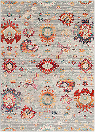 "Rectangular 5'3"" x 7'6"" Area Rug, Multi, large"