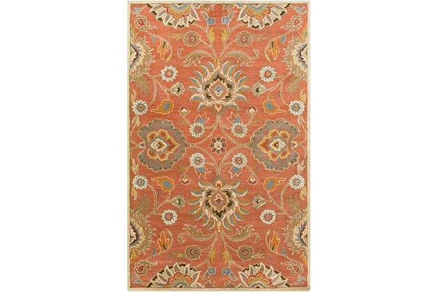 Hand Crafted 8' x 11' Area Rug, Multi, large