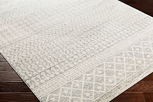 Modern Rug, Two-tone Gray/White, rollover