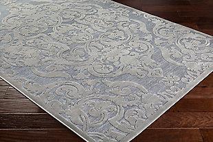 Rectangular Area Rug, Medium Gray/Charcoal, rollover