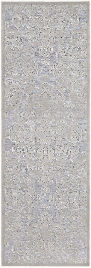 Rectangular Area Rug, Medium Gray/Charcoal, large