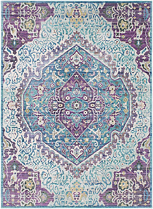 Modern Area Rug, Multi, large