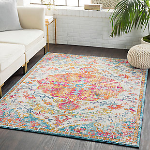 Home Accents Harput Area Rug, Orange, rollover
