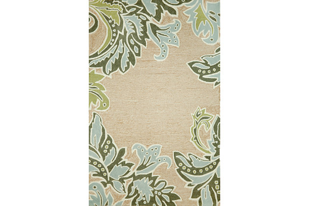 "Home Accents 5' x 7'6"" Indoor/Outdoor Rug by Ashley HomeS..."