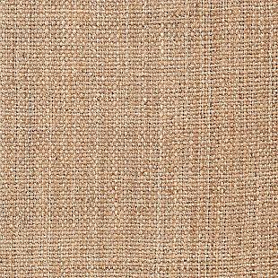 Hand Hooked Jute Area Rug, Wheat, large