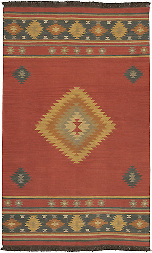 Hand Crafted Tribal Area Rug, Multi, large