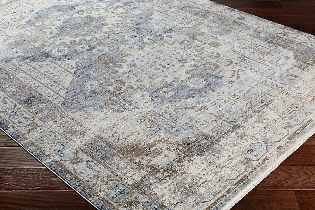 Rectangular Area Rug, Multi, large