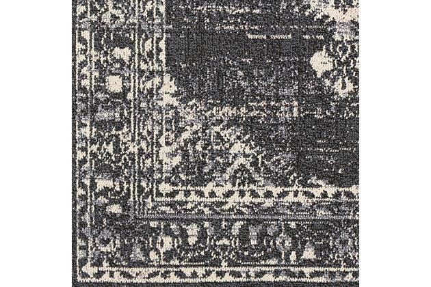 Modern Braided Tassel Area Rug, Multi, large
