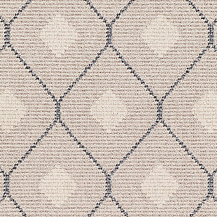 Modern Braided Tassle Area Rug, Multi, large