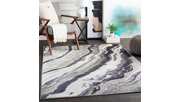 Abstract Area Rug, Multi, rollover