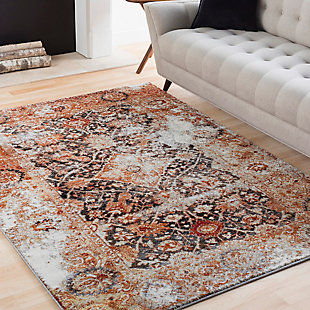 Home Accents Serapi Area Rug, Multi, rollover
