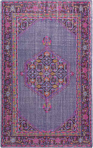 Hand Knotted Area Rug, , large