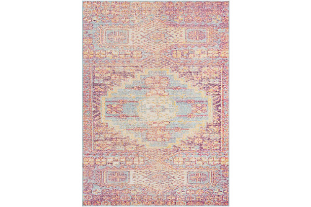 Home Accents Antioch 2' x 3' Area Rug, Multi, large
