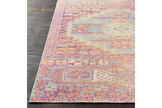 """Home Accents Antioch 5'3"""" x 7'3"""" Area Rug, Multi, large"""