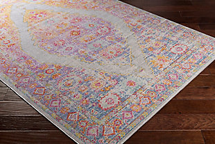 "Home Accents Antioch 3' x 7'10"" Area Rug, Multi, rollover"