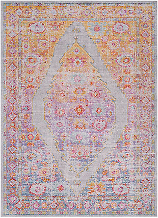 Home Accents Antioch 9' x 13' Area Rug, Multi, large