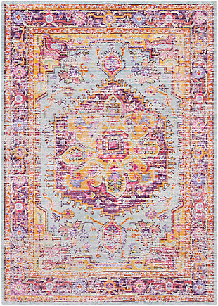 "Home Accents Antioch 3'11"" x 5'11"" Area Rug, Multi, large"