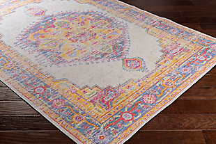 "Home Accents Antioch 3'11"" x 5'11"" Area Rug, Multi, rollover"