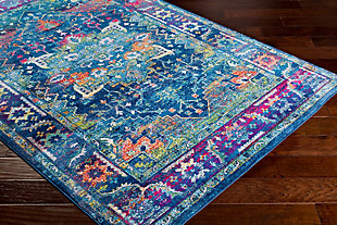 "Home Accents Aura 2'7"" x 7'6"" Area Rug, Multi, large"
