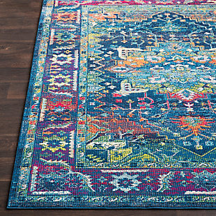 """Home Accents Aura 5'3"""" x 7'6"""" Area Rug, Multi, large"""