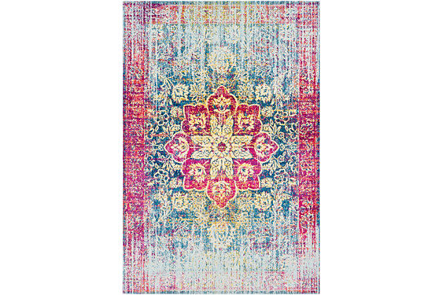 "Home Accents Aura 5'3"" x 7'6"" Area Rug, Multi, large"