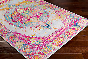 "Home Accents Aura 7'10"" x 10'3"" Area Rug, Multi, large"