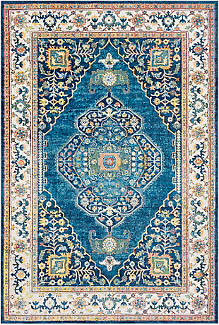 Home Accents Aura 2' x 3' Area Rug, Multi, large