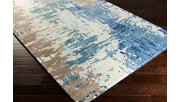Hand Crafted 2' x 3' Area Rug, Multi, rollover