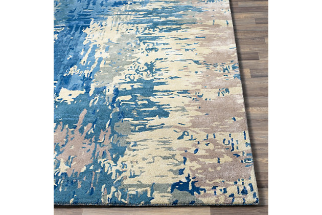 "Hand Crafted 2'6"" x 8' Area Rug, Multi, large"
