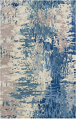 """Hand Crafted 3'3"""" x 5'3"""" Area Rug, Multi, large"""