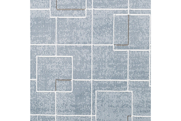 "Modern 5'3"" x 7'6"" Area Rug, Multi, large"